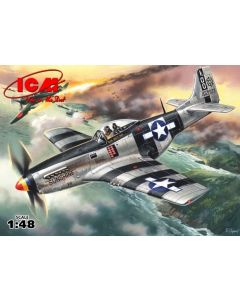 ICM 48154 Mustang P-51K - WWII American Fighter 1/48
