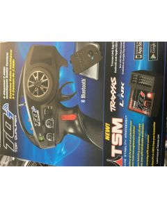 Traxxas 6507R TQi 2.4GHz (4-Channel) Intelligent Radio System Compatible with TSM 5CH Receiver