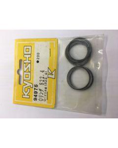 Kyosho 94975 O-RING S22.4 BLACK 5pcs (ORG22)