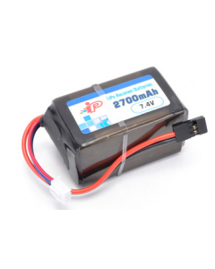 Intellect 2700-2s 2700MAH 7.4V RECEIVER HUMP PACK w/JR Connector