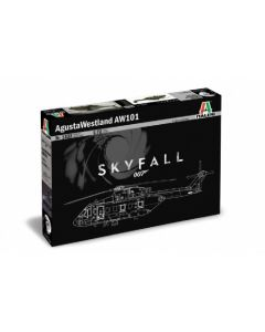 """Italeri 1332 AgustaWestland AW-101 """"Skyfall"""" 007 Movie 1/72"""