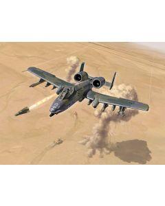 Italeri 1376 A-10 A/C Thunderbolt II - Gulf War 1/72