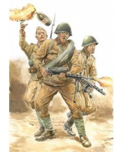 Italeri Warlord Games 15602 WWI Soviet Infantry 1/56 28mm