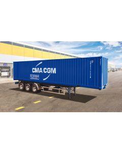 Italeri 3951 40' Container Trailer 1/24
