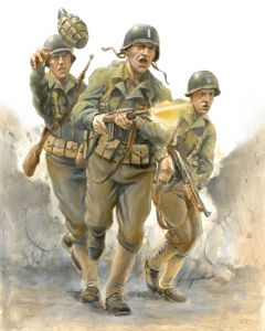 Italeri Warlord Games 15603 WWII U.S. Infantry 1/56 28mm