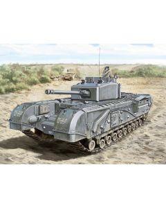 Italeri Warlord Games 15760 Churchill Mk.III - Mk.III 75mm - Mk.IV - AVRE - Mk.V - NA 75 - Mk.VI 1/56 28mm