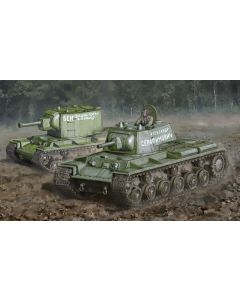 Italeri Warlord Games 15763 KV-1 / KV-2 1/56 28mm