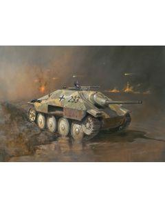Italeri Warlord Games 15767 Jagdpanzer 38(t) Hetzer 1/56 28mm