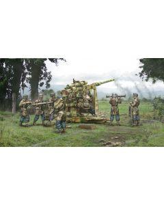 Italeri Warlord Games 15771 8.8cm Flak 37 with Crew 1/56 28mm