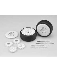 Jconcepts 3113-19 SPEED FANGS - BELTED, PRE-MOUNTED ON CHEETAH WHEELS 1/8