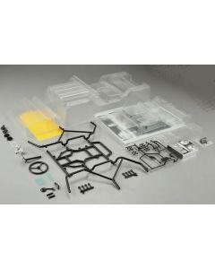 Killer Body 48442 WARRIOR Clear Body inc.Acc.  1/10