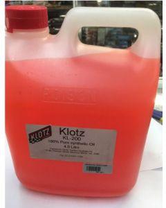 Klot KL-200 100% Glow Synthetic Oil 4L