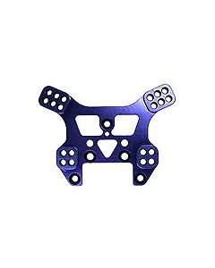 Kyosho IHW07R Alu Rear Shock Stay, Blue (Mini Inferno ST/ Hop-up part for IH21B)