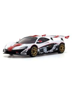 Kyosho MINI-Z RWD Series Ready Set McLaren P1™ GTR White/Red 1/27