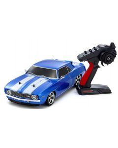 Kyosho 1/10 PureTen GP 4WD FW-06 1969 Chevy Camaro Z/28 Le Mans Blue Readyset