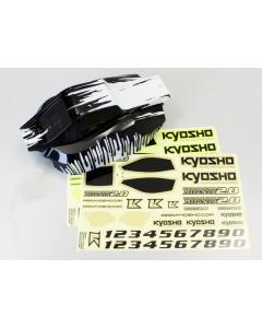 Kyosho TRB501VT1 DBX VE 2.0 Painted Body (Black) 1/10
