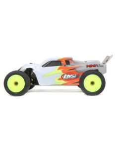Losi LOS210015 Truggy Painted Body, Gray and White, Mini T 2.0  1/16