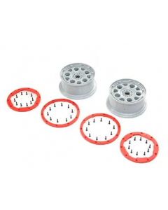 Losi LOS45033 Wheels, Bead Lock, 2pcs, DBXL-E 2.0  1/6