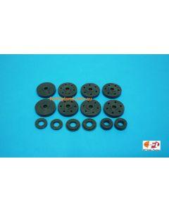 Losi LOSA5440 15mm Shock Piston/Guide Set 8B, 8T