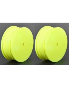 Losi TLR43010 Front Wheel, 12mm Hex, Yellow (2): 22 3.0 1/10