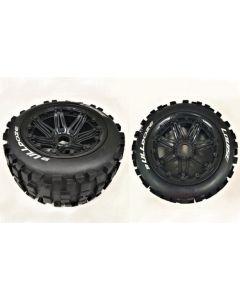 Louise LT3244B B-ulldoze 1/5 Rear Wheel and Tyre Fits HPI Baja 2pcs