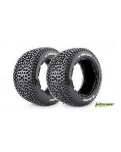Louise LT3245I B-Viper 1/5 Scale Rear Baja Tyre With Black Insert / HPI Baja 2pcs