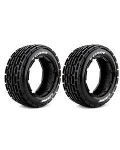 Louise LT3265I B-Orbit 1/5 Buggy Front Tyre w/Foam Insert (2pcs)