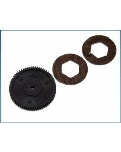 LRP 120934 Main Gear 68T /Slipper Pad S10