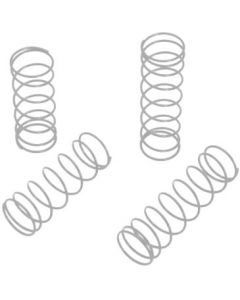 LRP 122516 Shock Spring Set White/ Middle (4pcs) 1/10