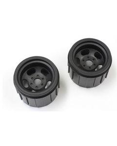 Kyosho MAH402BK Wheel 1/8 , 17mm Hex 60mm Dia (Black/2pcs/MAD Crusher)