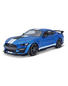 Maisto 31388BLU 2020 Mustang Shelby GT-500 Blue 1/18