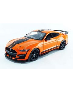 Maisto 31388ORA 2020 Mustang Shelby GT-500 Orange 1/18