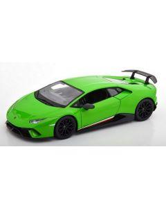 Maisto 31391GRE 2017 Lamborghini Huracan Performante Pearl Green 1/18