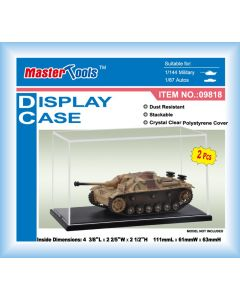 Master Tools 09818 Display Case 111mmL x 61mmW x 63mmH