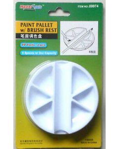 Master Tools 09974 Paint Palette - w/ brush rest