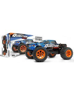 Maverick Quantum MT FLUX 1/10 4WD Brushless Monster Truck Blue / Orange