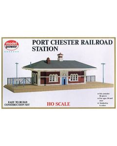 Model Power 542 Port Chester Railroad Station HO Scale