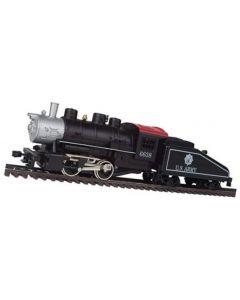 Model Power 96638 0-4-0 Shifter & Tender Locomotive US Army