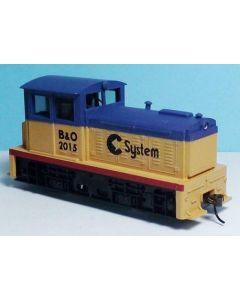 Model Power 96678 DDT Plymouth Industrial Diesel: Chessie