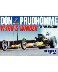 """MPC 921 Don """"Snake"""" Prudhomme Wynn's Winder Dragster 1/25"""