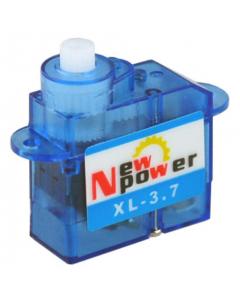 New Power XL-3.7 Micro Servo .55Kg/.08sec, 3.7g, 6V