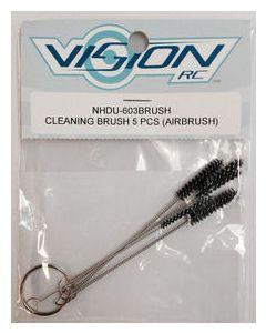 NHDU 603BRUSH Airbrush Cleaning Brush 5pcs
