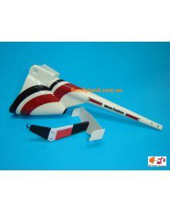 Nine Eagles 11016800 Tail Set (Red-White/ 500SX)