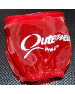 Outerwears 20-2569-03 AIR FILTER COVER LOSI 5T RED