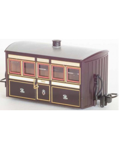 Peco GR-550 FR Bug Box Coach, 1st Class, Victorian Livery 00-9 Scale