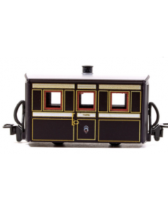 Peco GR-555 FR Bug Box Coach, 3rd Class, Victorian Livery 00-9 Scale