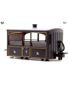 Peco GR-560 FR Bug Box Coach, Zoo Car, Victorian Livery 00-9 Scale