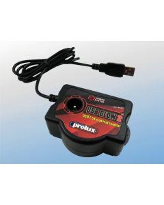 PROLUX 3507 USB 1.5 AMP GLOW PEAK CHARGER