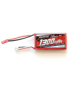 FMS Predator 7.4V 1300mAh 25C Lipo Battery 1100mm J3
