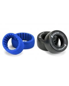 """Proline 10157-203 Hoosier Drag Slick SC 2.2""""/3.0"""" S3 (Soft) Drag Racing Tires for 1/10 SC Trucks Rear"""